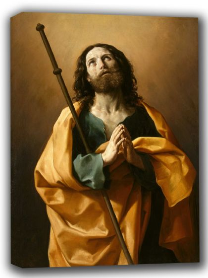 Reni, Guido: Saint James the Greater. Fine Art Canvas. Sizes: A4/A3/A2/A1 (002109)